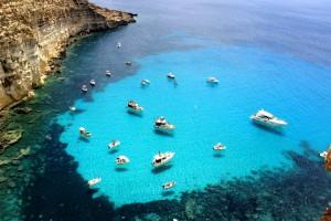Giro dell'isola Lampedusa
