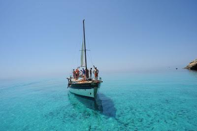 Lampedusa Gita in barca