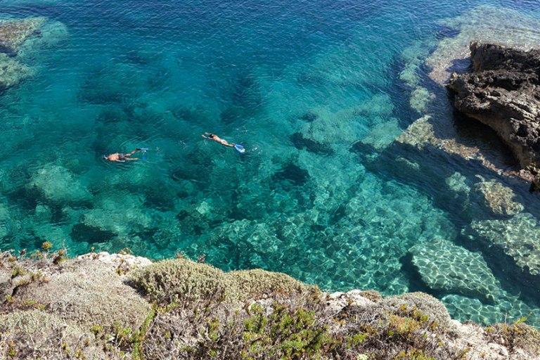 fare snorkeling a lampedusa