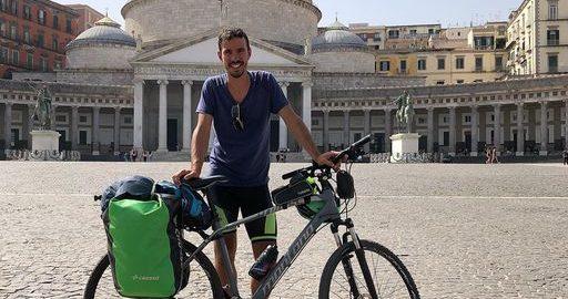 Lorenzo Conti, da Firenze a Lampedusa in Bicicletta